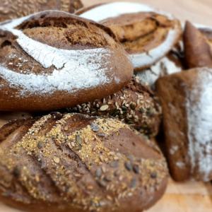 Brown Bread, Whole grain bread, Sourdough bread
